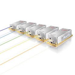 連続発振個体レーザ Sapphireシリーズ 458-594 nm、~400 mW、光励起半導体(OPSL)技術採用レーザ