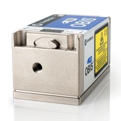 連続発振個体レーザ OBISシリーズ 355-980 nm、~150 mW、超小型レーザ