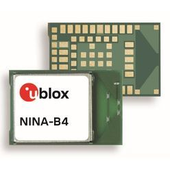 Bluetooth Low Energyモジュール NINA-B4