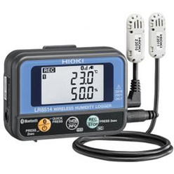ワイヤレス温湿度ロガー LR8514